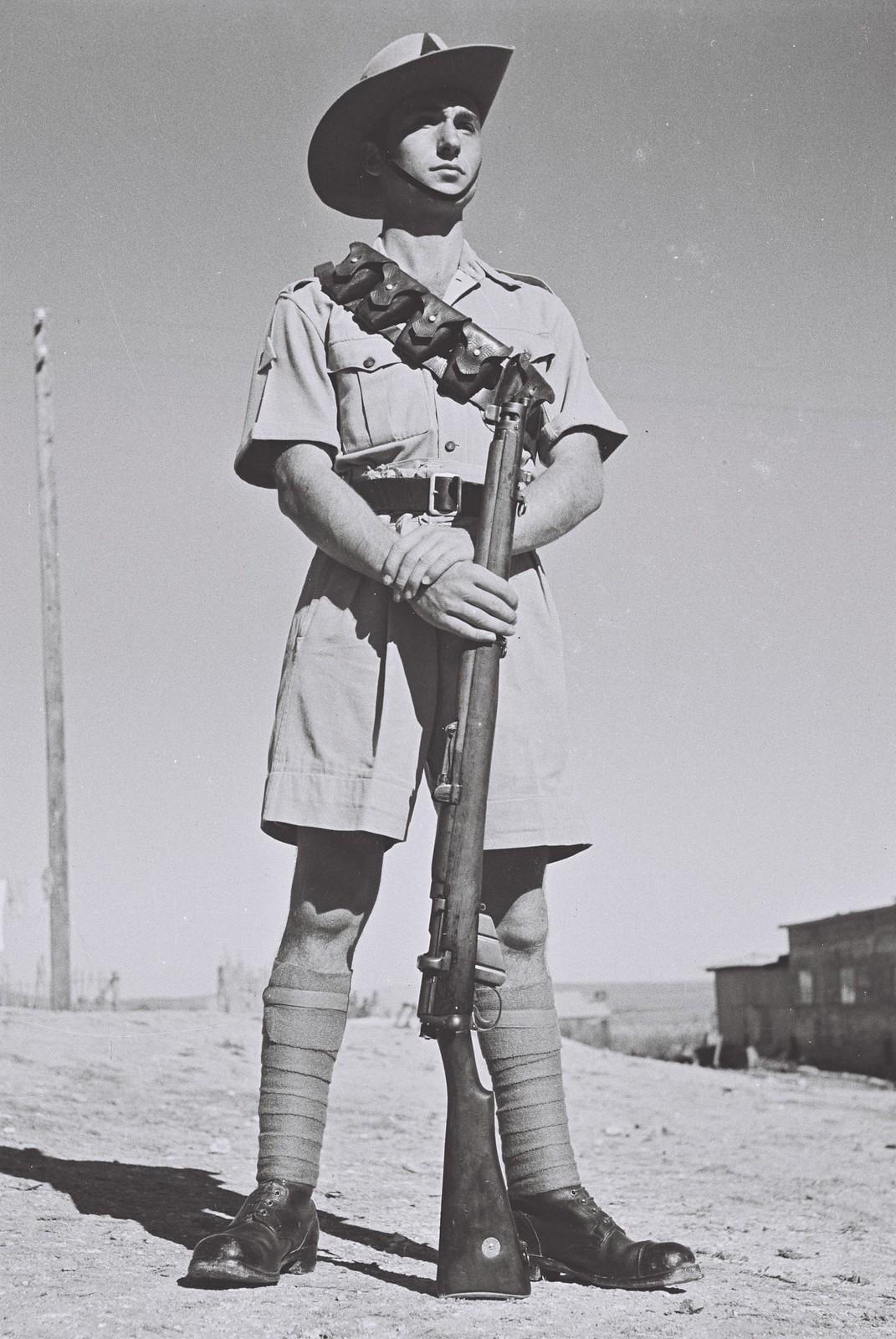 1942. Член Еврейской поселенческой полиции. 2 августа