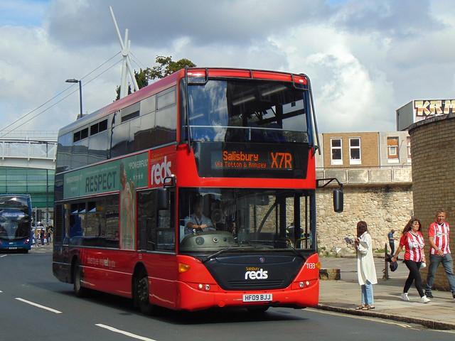 Salisbury Reds 1133 (HF09 BJJ)