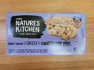 Nature's Kitchen Cheesy Cauliflower Pie