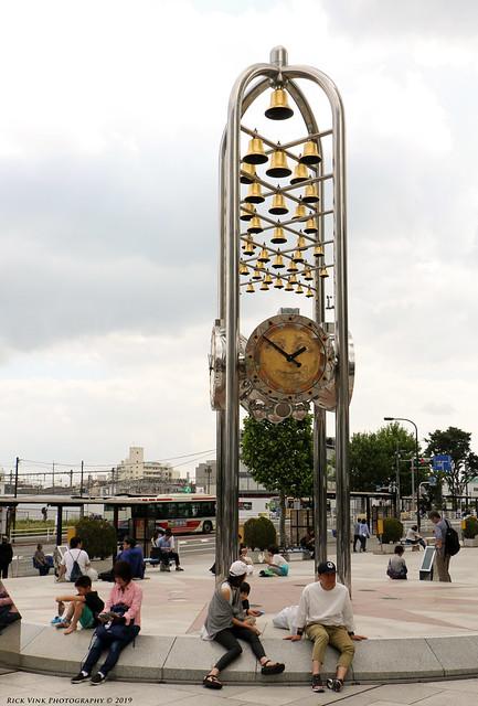 Clock Monument Of The Sun Plaza