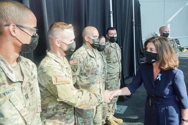 On 20th Anniversary of 9/11, Governor Hochul Proposes Legislation to Allow National Guard Members to Qualify as Veterans Under New York State Law