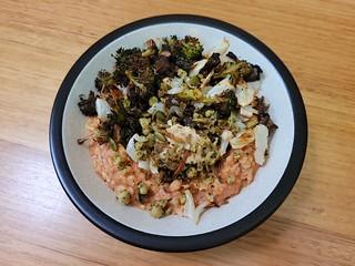 Savoury oatmeal