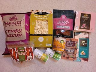 Vegan Grocery Store Order