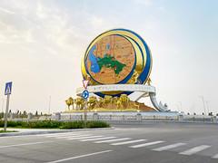 Bicycle Monument in Ashgabat
