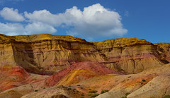 """""""Painted Cliffs in the Gobi"""" Mongolia *"""