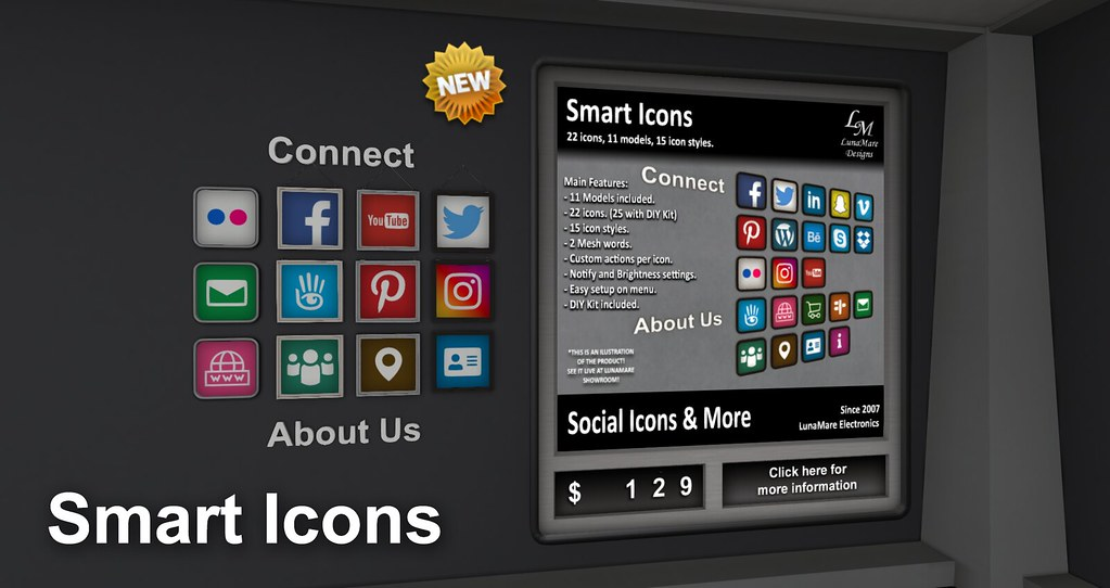LM – Smart Icons