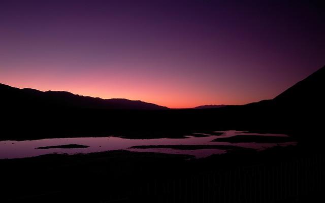 Sunset, Badwater Basin