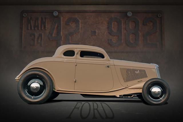 Chopped  - 1934 Ford Hot Rod