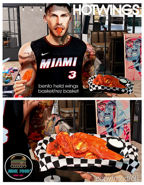Junk Food – Hotwings Ad