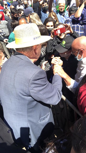 11/9/2021 Bolsonaro na 44ª Expointer