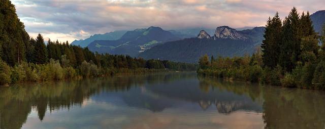 Salzach River -  Salzburg - Late Summer 2021