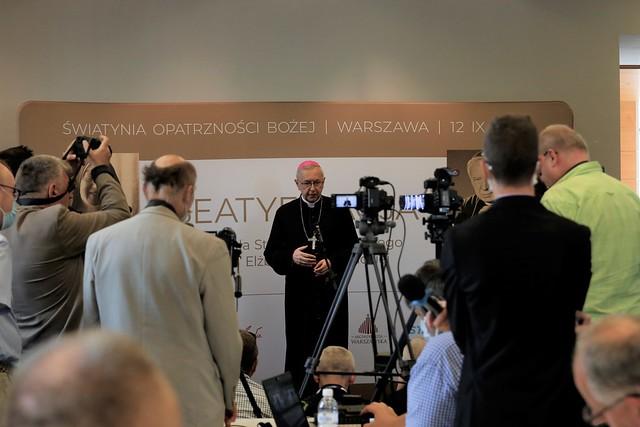 Briefing przed beatyfikacją Prymasa Tysiąclecia -  Warszawa, 12 IX 2021 r.