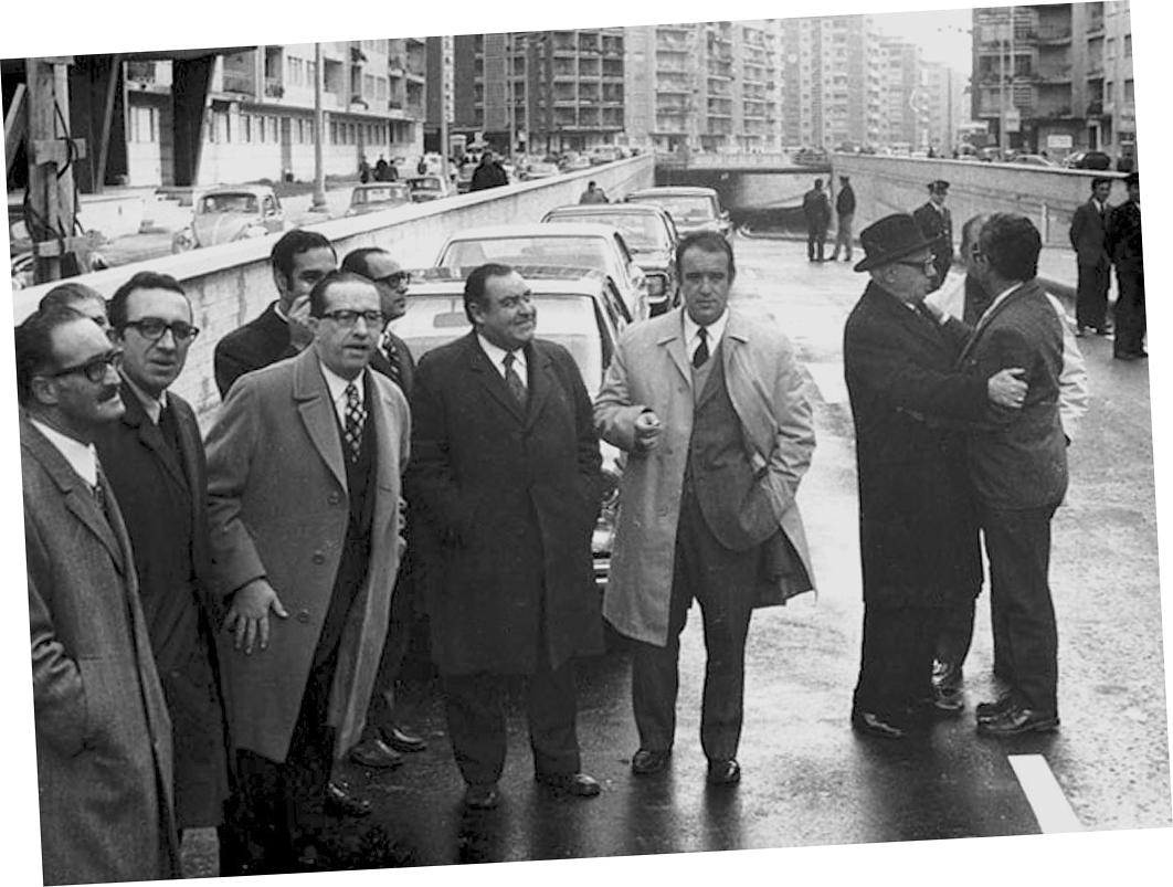 Viaduto da Av. Roma, Lisboa (A.F.C.M.L. 1971)