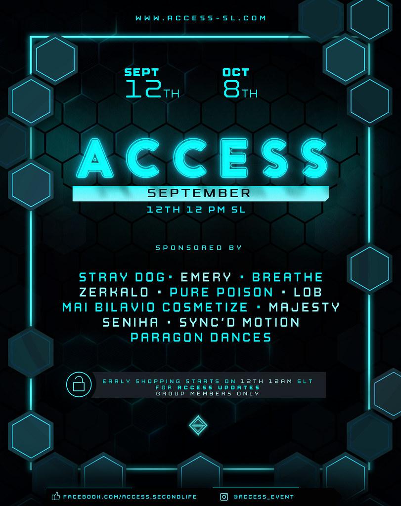 ACCESS – Open NOW!