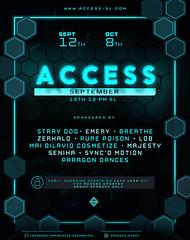 ACCESS - Open NOW!