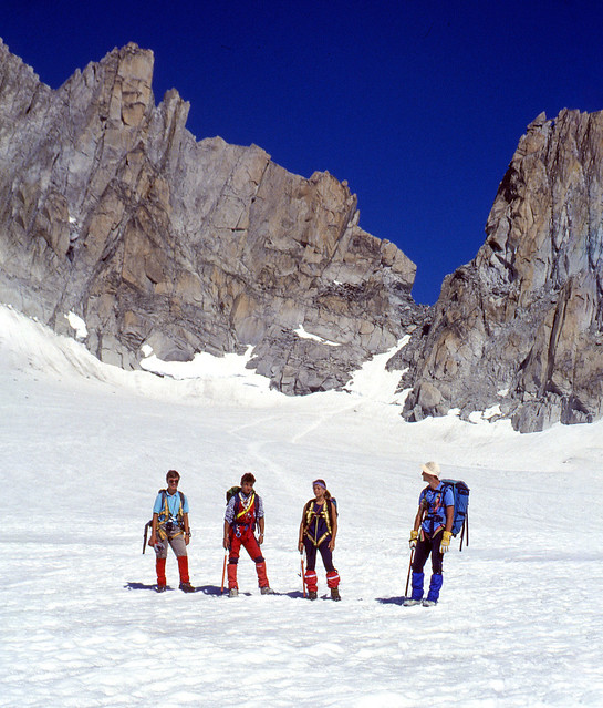 Mountaineering thirty years ago (1991, august)