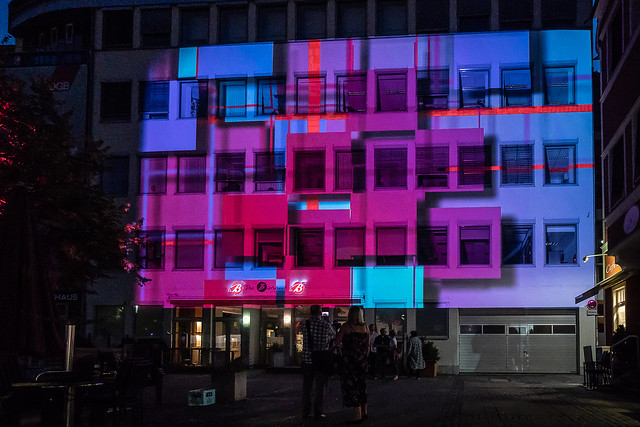 DGB Oberbayern Lichtinstallation