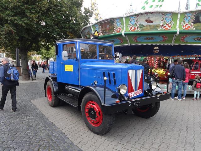 ab 1933 Straßenschlepper SS55 von Hanomag Domplatz in 99084 Erfurt