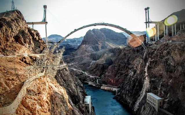 Hoover Dam // Mike O'Callaghan–Pat Tillman Memorial Bridge