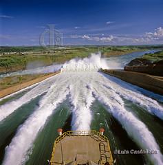 Spillways. Itaipú Dam. Brazil/Paraguay