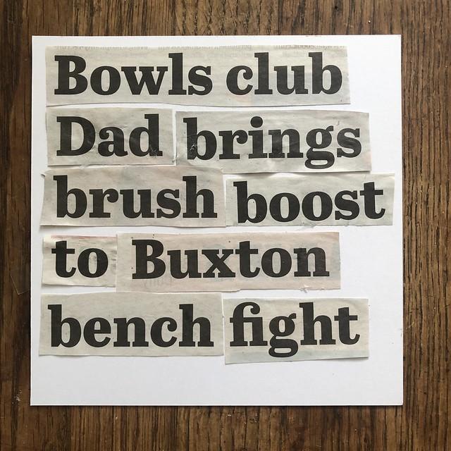 Bowls club Dad