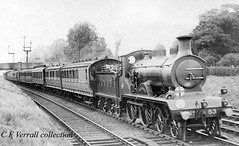 LBSCR B4 53 RICHMOND at Balham Intermediate with a Hove and Worthing Pullman express