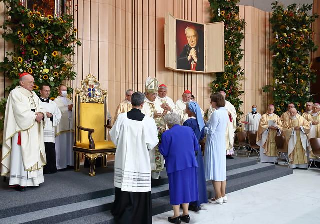 Beatyfikacja kardynała Stefana Wyszyńskiego i matki Elżbiety Czackiej - Warszawa, 12 IX 2021 r.