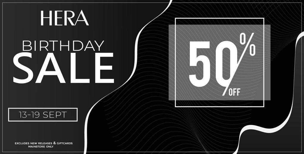 HERA Birthday Sale!
