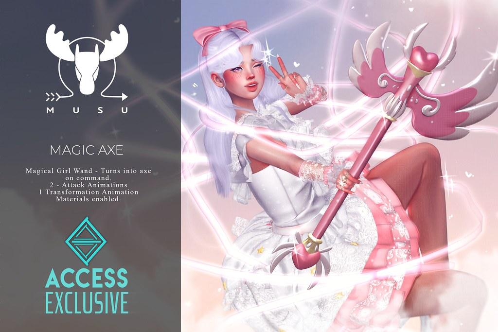 -MUSU- Magic Axe @ Access