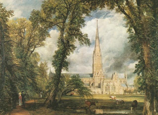 John Constable ''Salisbury Cathedral'' (Victoria & Albert Museum)