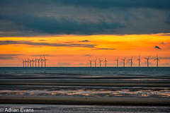 Seascape Sunset Wales