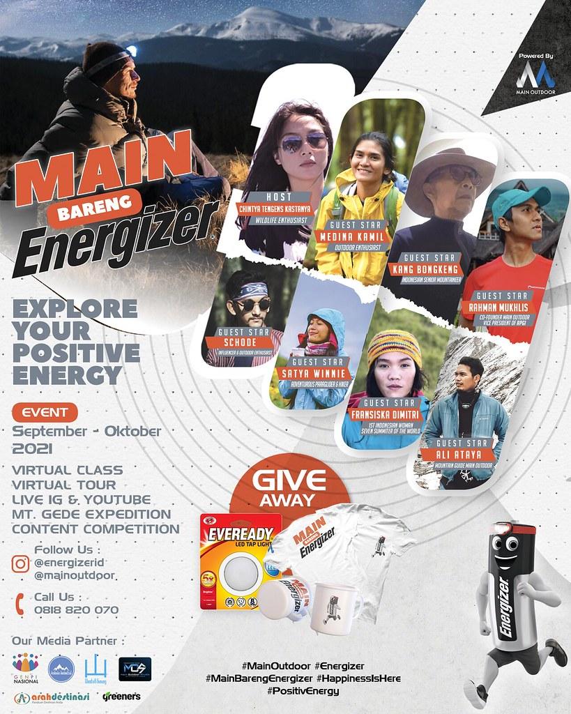 Energizer Indonesia dan Main Outdoor - Main Bareng Energizer 2021