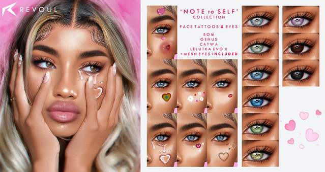 REVOUL Note to Self Collection x Access & Giveaways! ♥♥