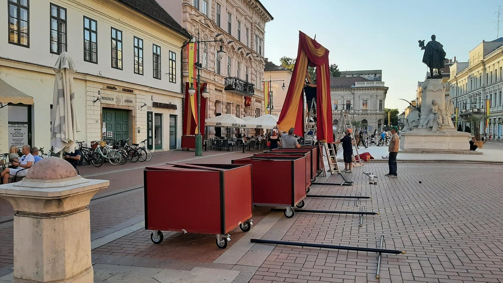 Spanyol belvárossá alakítják Szegedet egy filmforgatás miatt