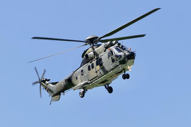 Eurocopter AS532 Cougar T-334 Mollis Airshow Switzerland