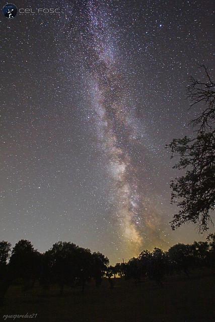 Vía Láctea Valle de los Pedroches
