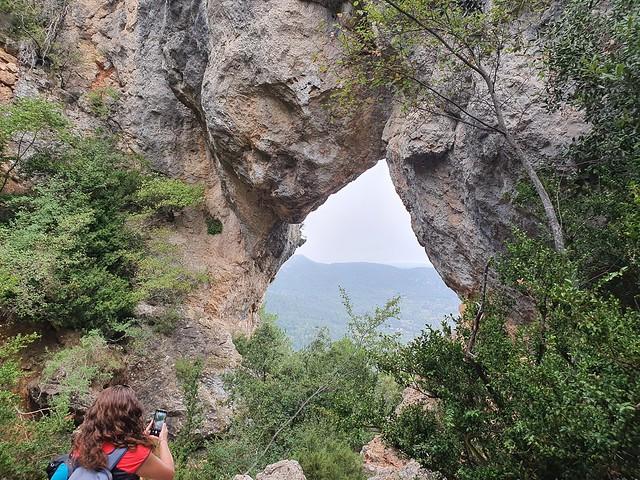 2021-09-05 Ruta Capafonts, Roca Foradada, Els Motllats, Pont de Goi, Font de la Llúdrigats, Capafonts