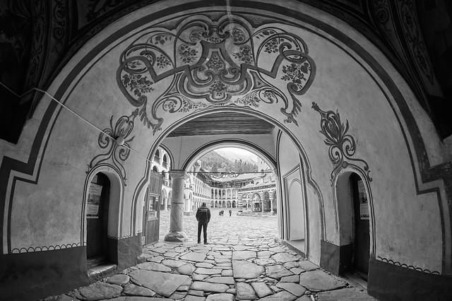 Entrance of Rila monastery