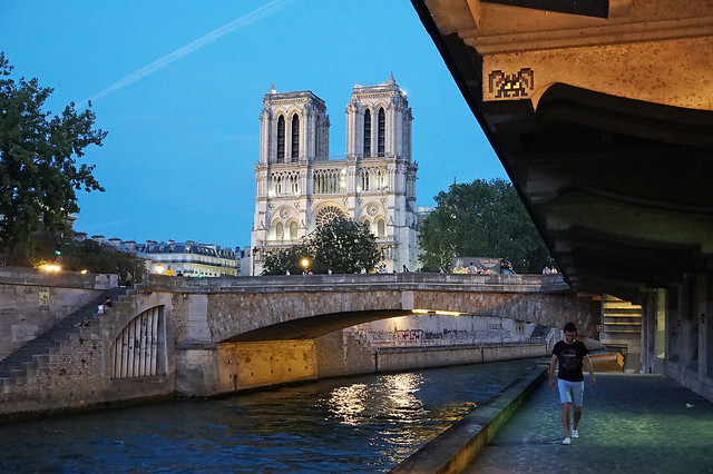 Quai Saint-Michel - Paris (France)