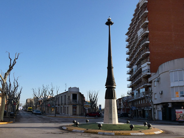 Paseo de la Estación, Manzanares