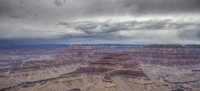 Stormy Grand Canyon.....