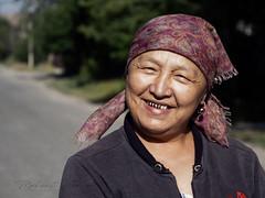 The kirguizs hostess