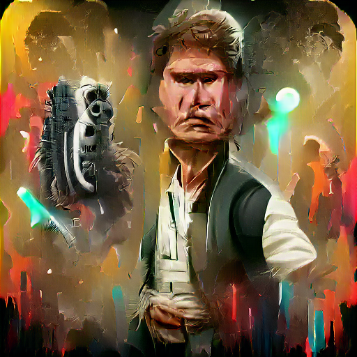 'Han Solo' SlideShowVisions