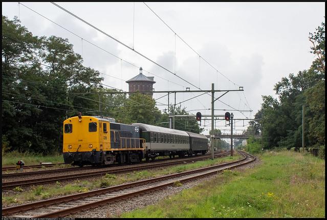 SHD 2205 // Overbrenging Bm's // Bergen op Zoom, Emplacement // 11 september 2021
