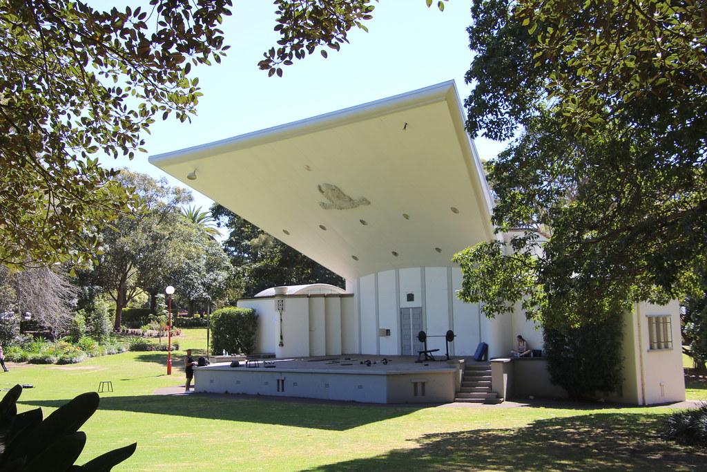 Music Shell, North Sydney