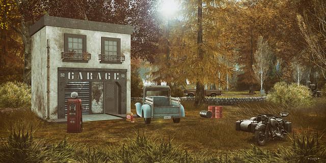 """""""Le garage....."""""""