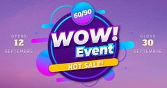 Get Wowed at Wow Event!