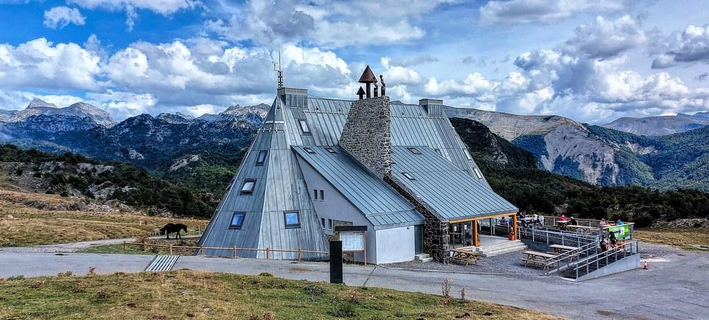 Refugio de montaña en Belagua.  Navarra.