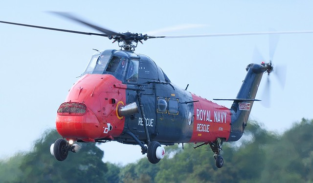 Westland Wessex HU5 Helicopter Royal Navy Rescue XT791 G-WSEX