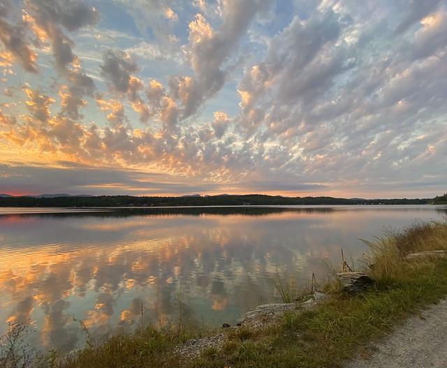 Big Sky At Dawn